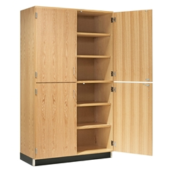 "48""W Split-Door Storage Cabinet"