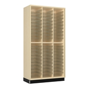 Tall Open Tote Storage Cabinet