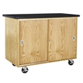 Economy Mobile Storage Cabinet / Table