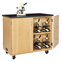 Mobile Microscope Charging Cabinet