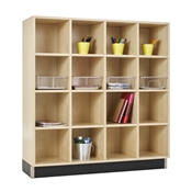 16-Section Cubby Organizer