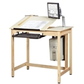 "30"" x 42"" Computer Drafting Table"