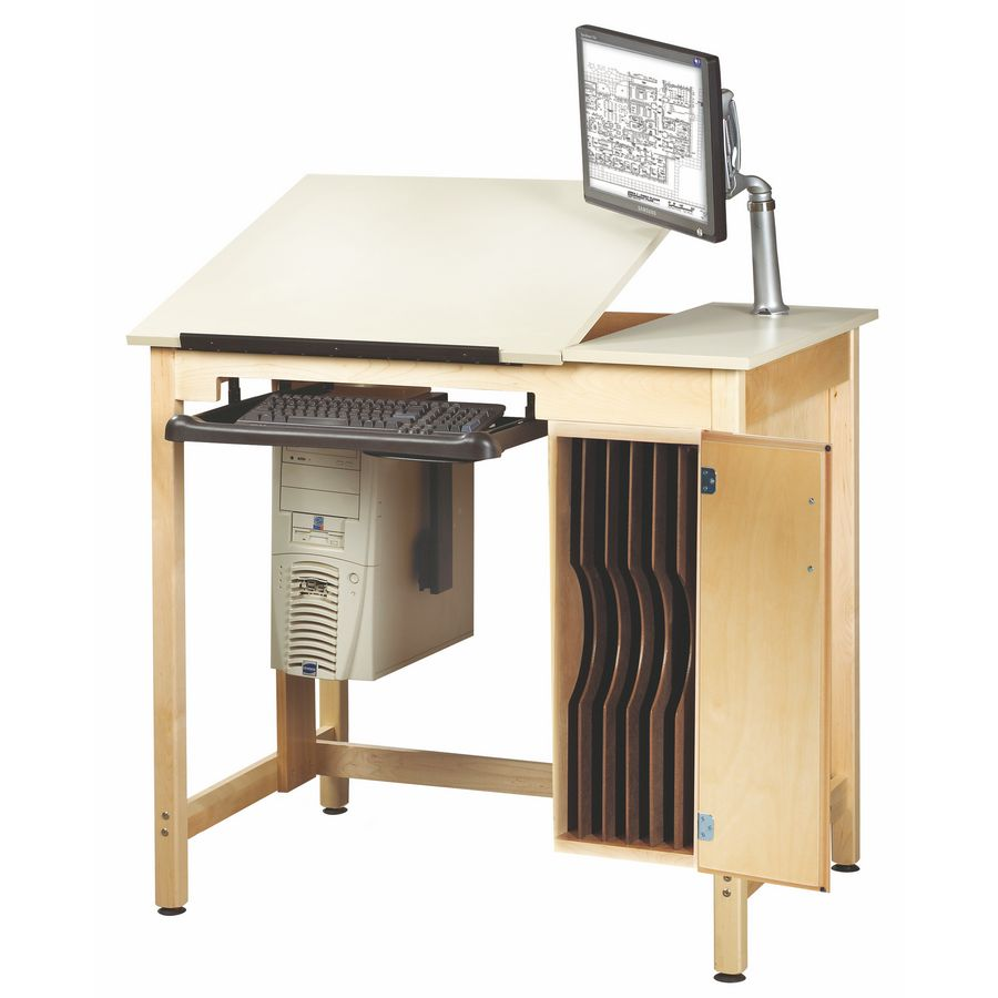 30 X 42 Student Computer Drafting Table