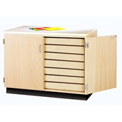Drawing Paper Storage Cabinet