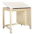 "30"" x 42"" Student Drafting Table"