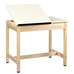 "24"" x 36"" Split-Top Drafting Table (30""H)"