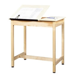 "24"" x 36"" Standing-Height Split-Top Drafting Table"