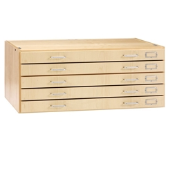 "Maple Flat File for 24"" x 36"" Media"