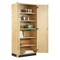 "36""W Tall Storage Cabinet with Doors"