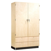 Tall Supply Storage Cabinet