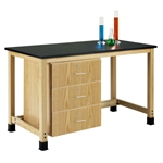 Add-A-Cabinet Student Table (3 Drawers)
