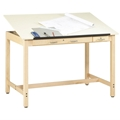 "37.5"" x 60"" Instructor Drafting Table"
