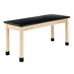 "Diversified Woodcrafts 60"" x 30"" Plain Apron Maple Table"