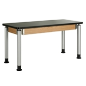 "54"" x 24"" Adjustable-Height Table"