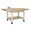 "48"" x 24"" Wood Workbench"