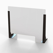 "20""W Clear Acrylic Barriers"