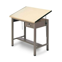 "30"" x 42"" Ranger 4-Post Drafting Table Drafting Furniture, Drafting Tables and Drawing Boards, Metal Drafting Tables, Mayline Ranger Drafting Table, drawing table"