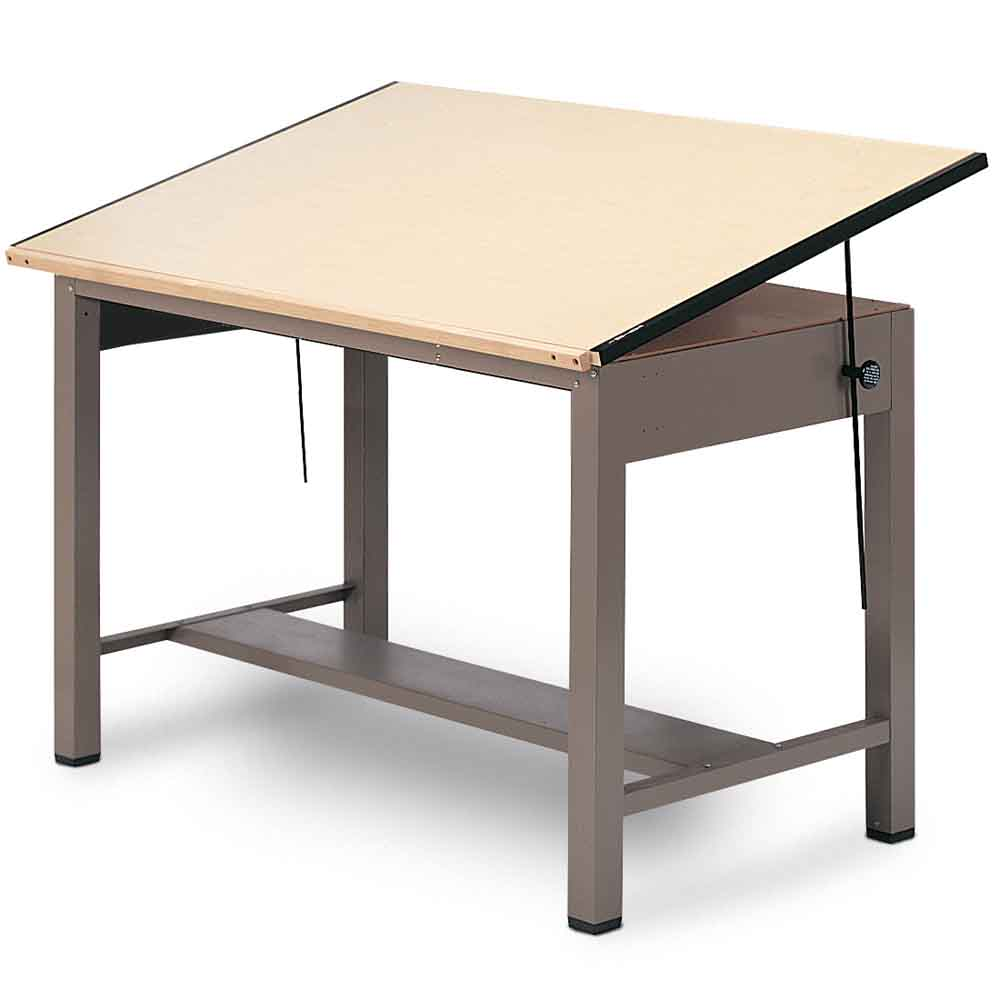 Mayline 37 5 Quot X 60 Quot Ranger 4 Post Drafting Table 7736