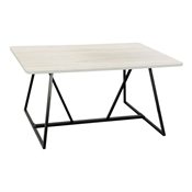 Oasis Teaming Sitting-Height Table