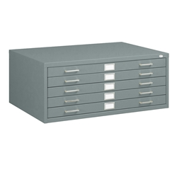 "5-Drawer Flat File for 24"" x 36"" Media Five drawer flat file; Five drawer steel flat file; Steel flat file; Blueprint storage; Engineering storage; Map storage; Office furniture; Flat file storage; Art drawing storage; Art drawing file; Engineer drawing storage; Blueprint organization; Art organization; Engineer drawing organization; Large document storage; Large document organization; Art and engineering storage; Art and engineering organization; Archival storage"