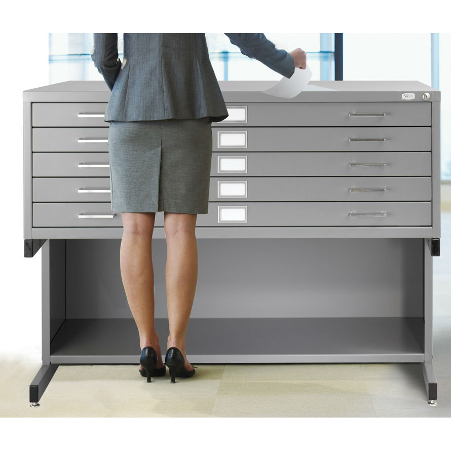 Safco 24 x 36 5 drawer flat file 4994 5 drawer flat file for 24 x 36 media malvernweather Gallery
