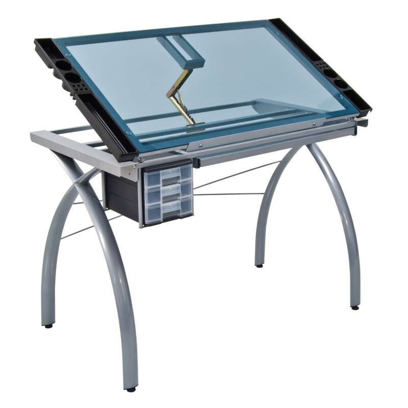 ... Futura Glass Top Craft Table   10050 ...