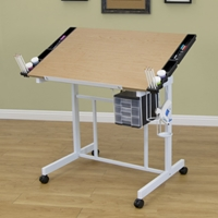Deluxe Craft Station Drafting Furniture, Drafting Tables and Drawing Boards, Craft and Hobby Tables, drawing table
