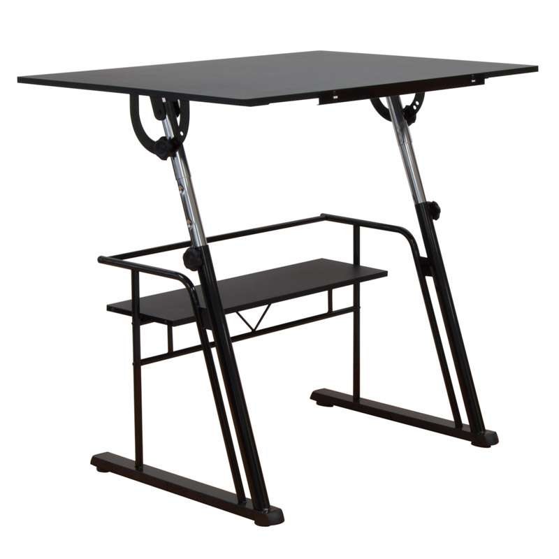 Studio Design Drafting Table studio designs futura craft station draftsman table for artists review youtube Zenith Drafting Set Color Black 32640