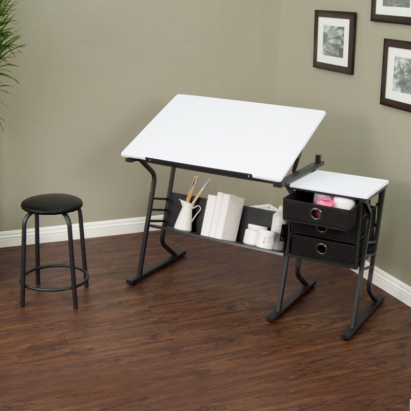 Studio Designs Eclipse Drafting Table Center