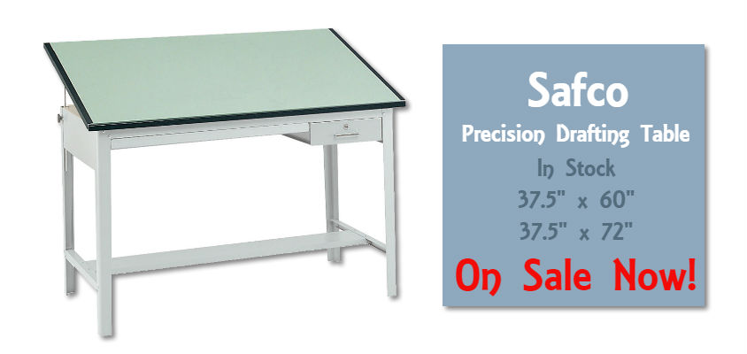Safco Precision Drafting Table Sale!