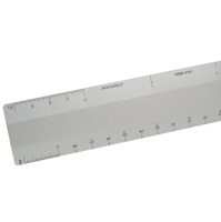 "12"" Aluminum Architect Scale"