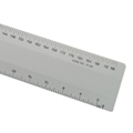 "12"" L2R Aluminum Architects Flat Scale"
