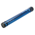 "37"" Transparent Blue Ice Tube Drafting Supplies, Blueprint Tubes and Carriers, Blueprint Plan and Document Tubes"