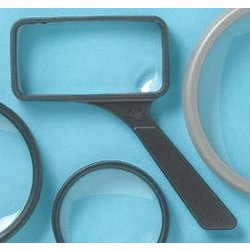 "2"" x 4"" General Purpose Magnifier 2x/6x Drafting Supplies, Office Supplies, Magnifiers"