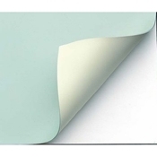 "VBC44-5 : Alvin Green/Cream 31"" x 42"" Vyco Sheet"