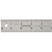 "12"" Cork-back Aluminum Rule Drafting Supplies, Ruling and Measuring Tools, Standard Rulers, Fairgate Cork-Back Rulers"
