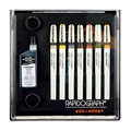 Rapidograph Slim Pack 7-Pen Set
