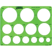 2440R : RapidDesign Extra Large Circles Template