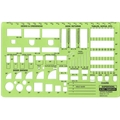 "1/8"" Scale Office Planner Template"
