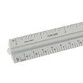 "12"" Architectural Aluminum Solid Triangular Scale"