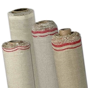"T1010T : Fredrix 92"" x 6 yds. Oil Primed Linen Canvas Roll : 111SP Rix"