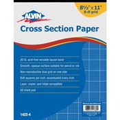 Alvin 8x8 Cross Section Papers