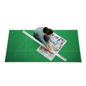 "48"" x 96"" Professional Cutting Mat Drafting Supplies, Cutting Tools and Trimmers, Cutting Mats, Alvin Green and Black Cutting Mats"