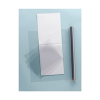 "9"" x 12"" Clear-Lay Vinyl Film Pad (5mil) Drafting Paper and Drawing Media, Drafting and Layout Papers, Drafting Mylar Film"