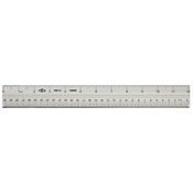 "12"" Aluminum Cutting Edge Ruler"