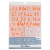 Lettering Stencil Set - Animation