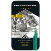 Premier Turquoise Medium Pencil Set Drafting Supplies, Drafting Pencils and Leads, Woodcase Drawing Pencils