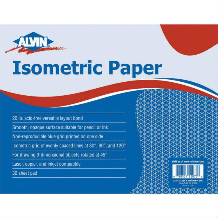 alvin 11 x 17 isometric paper 1242 2