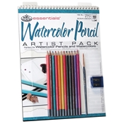 RD503 : Royal & Langnickel Essentials Watercolor Pencil Artist Pack