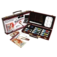 RSET-WAT3000 : Royal & Langnickel Beginner Box Set Watercolor Paint